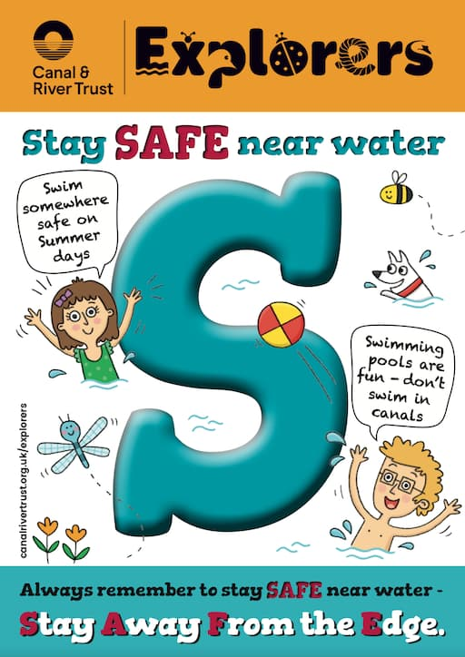 Canal & River Trust - Stay Safe Near Water