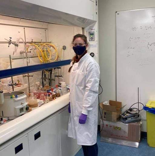 Amy McIntosh in the Chemistry Lab (Women In STEM)