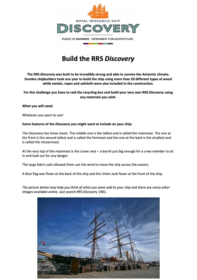 Build the RRS Discovery Worksheet
