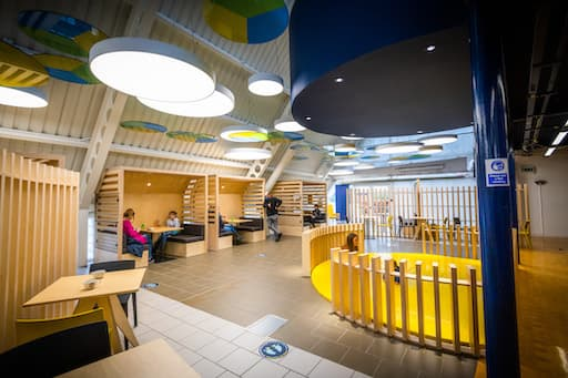 Café Create at Dundee Science Center