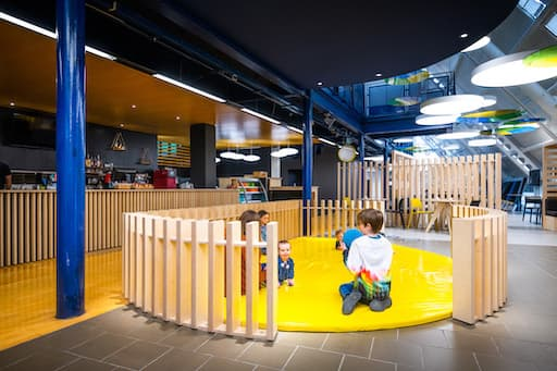 Cafe Create at Dundee Science Center