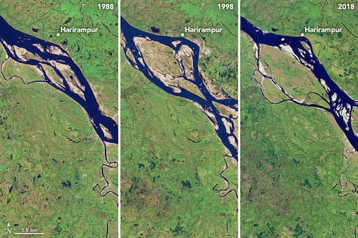 The Most Erosive Area on the Padma