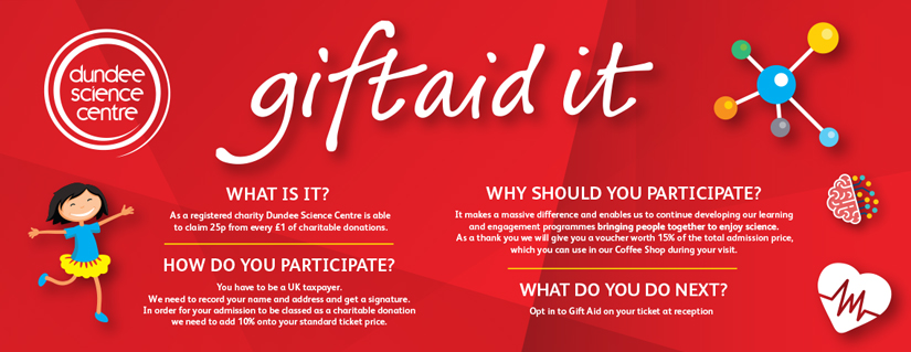 Gift Aid Banner