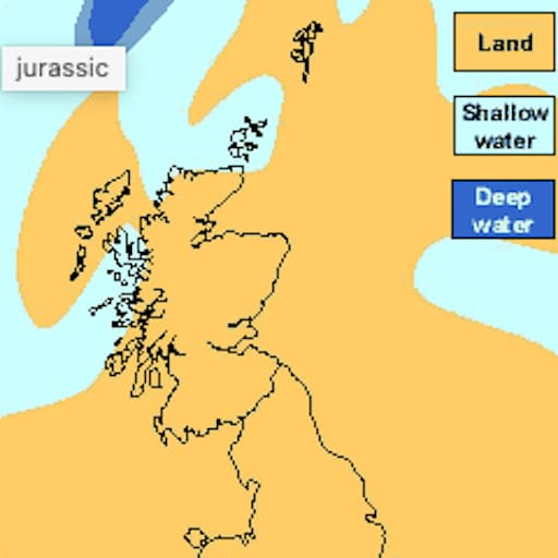 Jurassic Period Scotland (Scottish Geology)