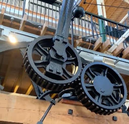 Boulton and Watt Rotative Bea Engine (Facebook Video)