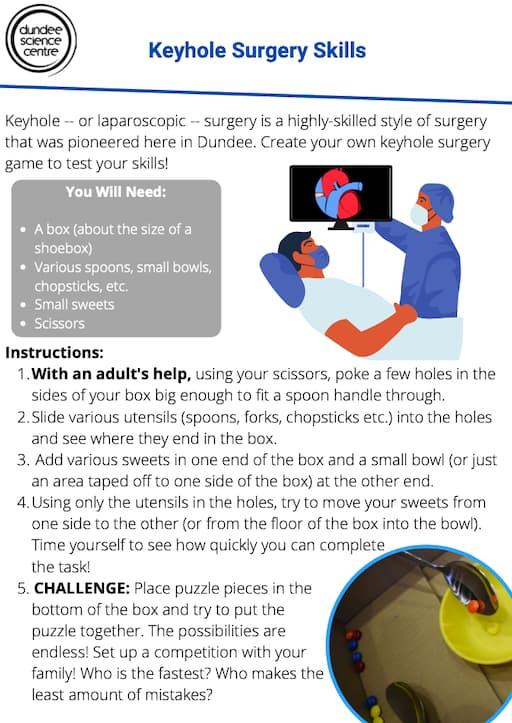 Keyhole Surgery Skills