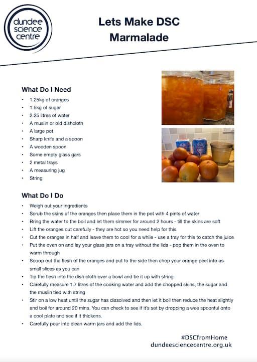 Let's Make DSC Marmalade
