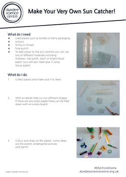 Make Your Own Sun Catcher