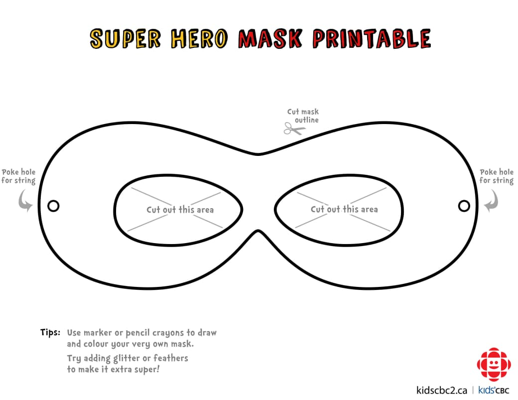 CBC Kids - Make Your Own Super Mask