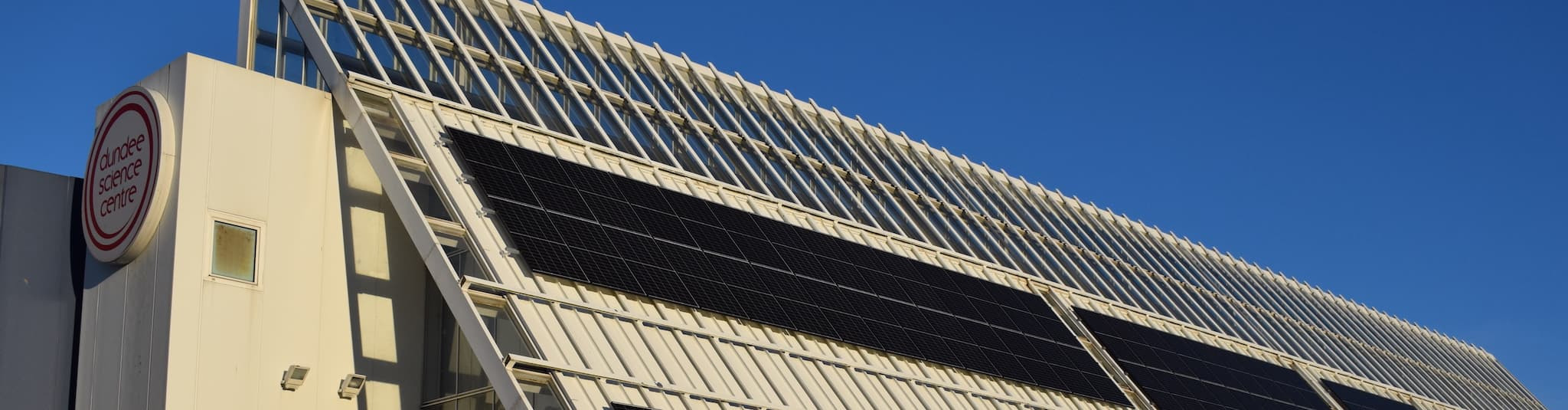 Solar Panels at Dundee Science Centre (DSC)