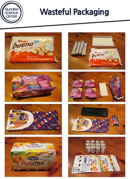 Wasteful Packaging