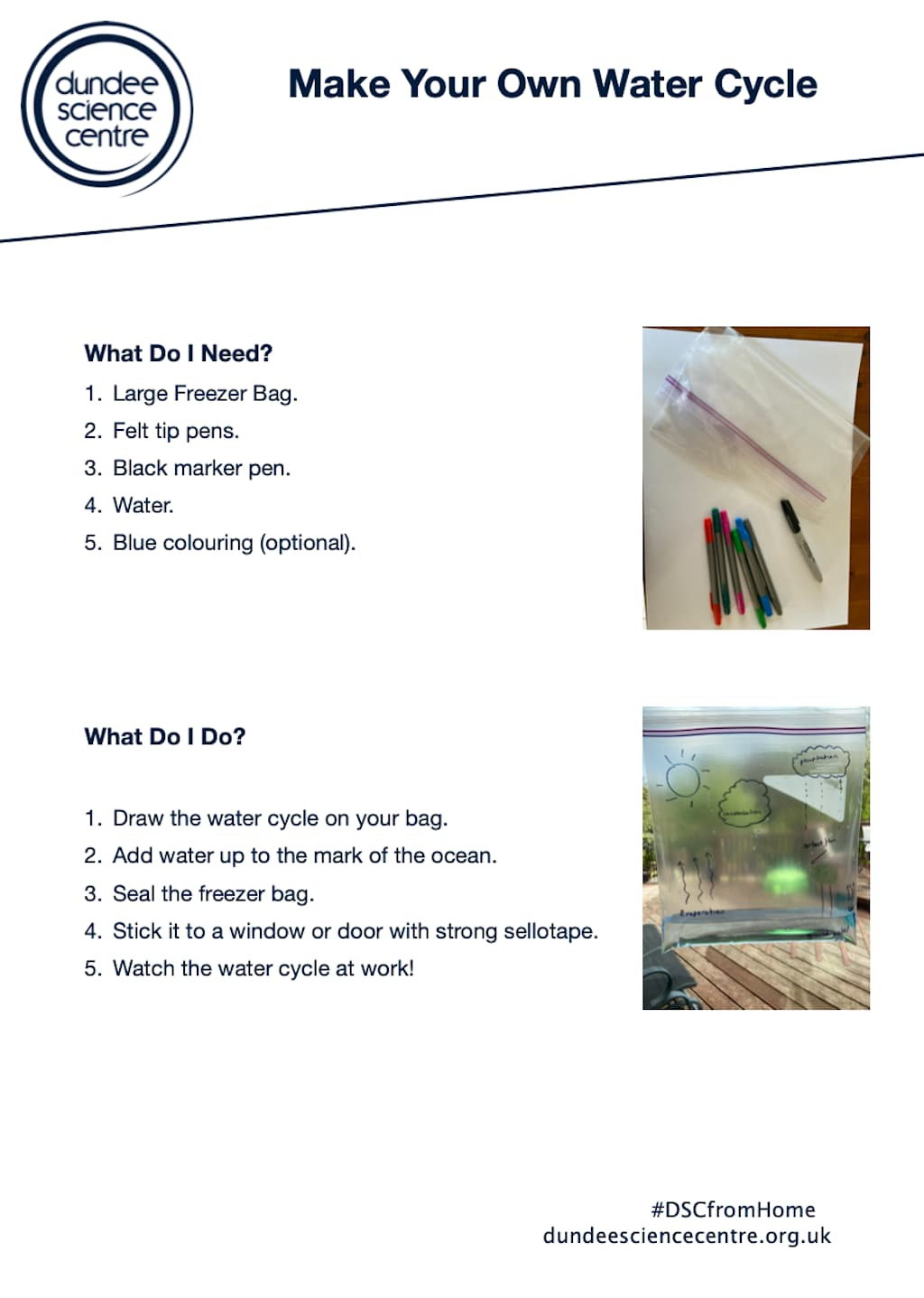 Make Your Own Water Cycle Worksheet